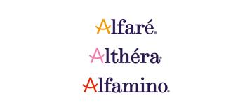 Althéra®, Alfaré®, Alfamino®